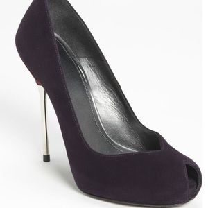 killer STUART WEITZMAN viceroy metal stiletto heel